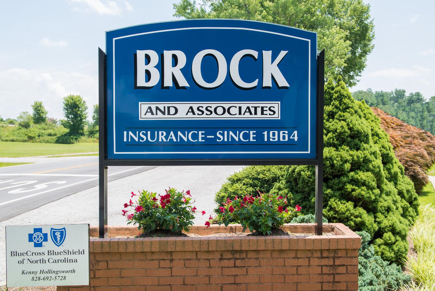 Brock Insurance Sign